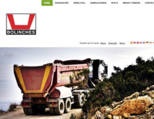 Exc. Bolinches | Webdesign